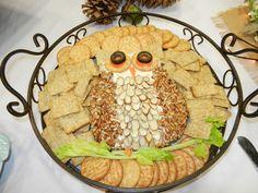 Cheese ball owl