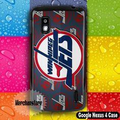 Winnipeg Jets NHL Ice Hockey Team Logo Google Nexus 4 Case