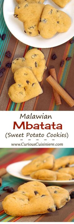 Mbatata from Malawi are easy to make Sweet Potato cookies that are soft and cakey, making them the perfect healthy cookie recipe to fill your cookie craving! | www.CuriousCuisiniere.com