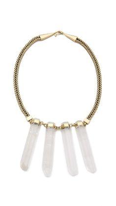 mania mania altamont neckpiece / shopbop.com