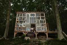 Found-Material Woodland Retreat Was Built With Only $500