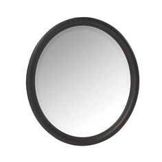 Home Decorators Collection Newport 32 In H X 28 In W Framed Wall Mirror In Black
