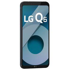 c2f93c0e5a7 Smartphone LG Q6 LGM700TV 32GB Câmera 13MP Tela FullVision 5.5
