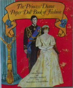 PRINCESS DIANA PAPER DOLL BOOK OF FASHION 1982 1st printing