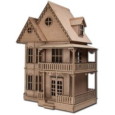 Laser Cut Dollhouse Kits | Greenleaf Dollhouse Kits Blog ❤ liked on Polyvore featuring filler