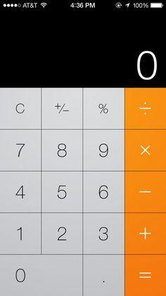 # IOS 7 #UI #iPhone