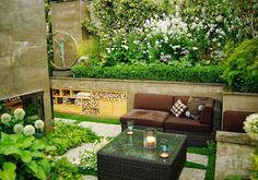 Znalezione obrazy dla zapytania jak zagospodarować mały ogródek