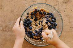 blueberry, lemon + quinoa slice {gluten + dairy-free} by My Darling Lemon Thyme, via Flickr