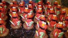 Frasco golosinero Elmo