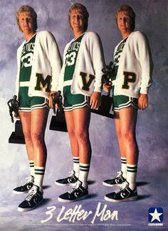 Larry Bird, MVP.