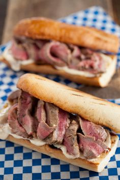 Paula Deen Michael's Grilled Steak Sandwiches