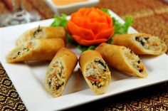 A delicious non meat recipe for the entire family - Bean Sprout Rolls!
