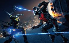 Download wallpapers Ant-Man and the Wasp, 4k, 2018 movie, Disney, superheroes, Ant-Man