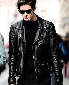Leather Jacket For Fall Season