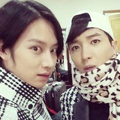Heechul + Leeteuk