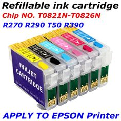 $13.95 (Buy here: https://alitems.com/g/1e8d114494ebda23ff8b16525dc3e8/?i=5&ulp=https%3A%2F%2Fwww.aliexpress.com%2Fitem%2FT0821N-T0826N-refillable-ink-cartridge-apply-to-printer-R270-R290-R295-R390-RX590-RX610-RX615-RX690%2F32329380301.html ) T0821N-T0826N refill ink cartridge apply to printer R270 R290 R295 R390 RX590 RX610 RX615 RX690 T59 TX650 TX659 TX700 for just $13.95