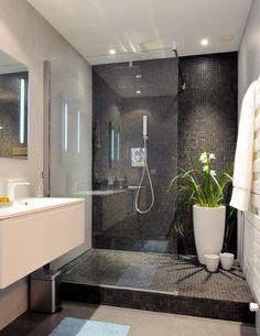czarna mozaika prysznic - Szukaj w Google