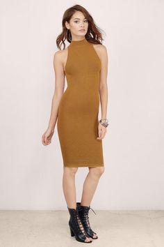 Sundown Bodycon Midi Dress