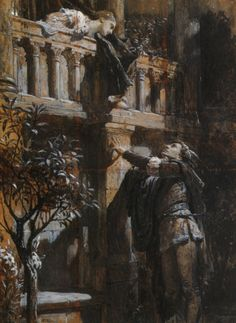 Romeo and Juliet by Frank Dicksee, 1876.