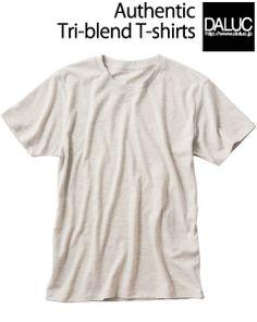4.3oz オーセンティックトライブレンドTシャツ:DALUC(ダルク) DM101が安い通販業者です。