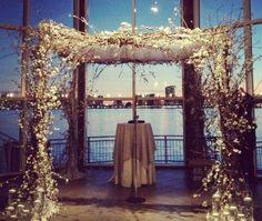 we ❤ this!  moncheribridals.com    #weddingarch #weddingarbor