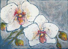 DPW Fine Art Auctions bienvenus - orchidées par Vicki Bois