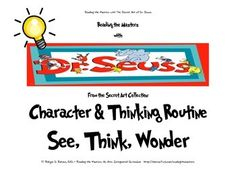 Dr. Seuss - Character & Thinking Routine