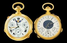 Sotheby's To Re-Auction The Patek Philippe Supercomplication, The Most Expensive Pocket Watch Ever