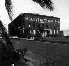 Cigar company in Ybor City - Tampa, Florida (my great-grandfather used to work there, mother's side)