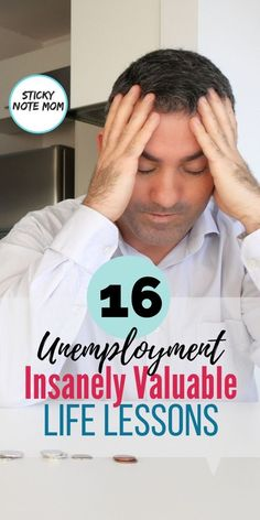 Unemployment is hard and humbling. To add financial stress and money worries makes it worse. These life lessons we learned during unemployment and financial money strain. Financial Stress, Financial Planning, Money Tips, Money Saving Tips, Save My Money, Finding A New Job, Emotional Rollercoaster, Money Problems, Family Budget