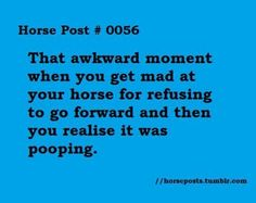 #cowgirl problems Awks... I always feel so bad.