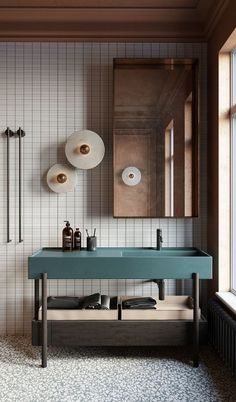 Industrial Bathroom Design, Bathroom Interior Design, Kitchen Interior, Interior House Colors, Diy Interior, Interior Exterior, Bad Inspiration, Bathroom Inspiration, Scandinavian Bedroom Decor