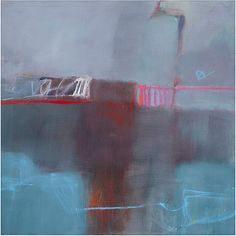 Sharon Paster, The Bridge, oil on canvas