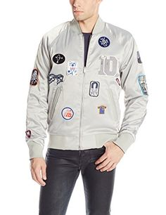 G-Star Raw Men's Marc Newson 10Yr Reversible Tour Jacket In Bowl Sateen Wacom, Wacom, X-Large G-Star Raw ++You can get best price to buy this with big discount just for you.++