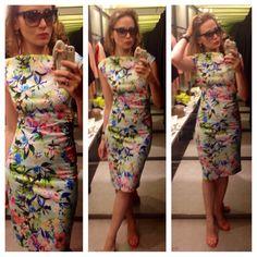 Zara dress floral spring wear 2014