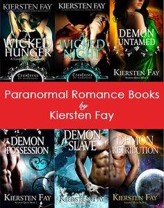Paranormal romance books by Kiersten Fay. Learn more or read excerpts here: http://www.kierstenfay.com/
