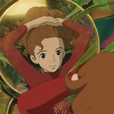Secret World Of Arrietty, The Secret World, Studio Ghibli Art, Studio Ghibli Movies, Hayao Miyazaki, Anime Angel, Totoro, Wallpaper Studio, Manga Anime