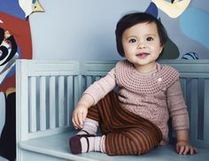 Miniature Baby - Babytøj til piger i den officielle Noa Noa webshop My Baby Girl, Kids Fashion, Miniatures, Feminine, Children, Aw 2014, Clothes, Shopping, Beautiful
