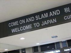 At Tokyo airport