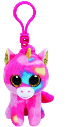 Fantasia the Multicoloured Unicorn - Clip Beanie Boo All Beanie Boos, Ty Beanie, Beanie Babies, Tsumtsum, Frozen, Kids Hats, Stocking Stuffers, My Little Pony, Gift Guide