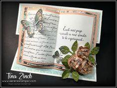 The Serene Stamper: Open Book Easel Cards Yearbook Covers, Yearbook Layouts, Yearbook Design, Yearbook Spreads, Yearbook Theme, Book Design Layout, Design Design, Graphic Design, Brochure Layout