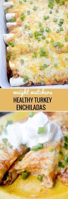 Weight Watchers Healthy Baked Turkey Enchiladas Recipe Diaries