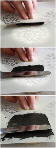 How to Stencil on a Cookies