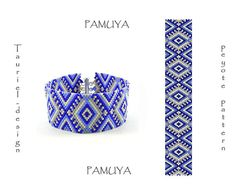 Pamuya odd count peyote pattern pdf bracelet DIY by Tauriel