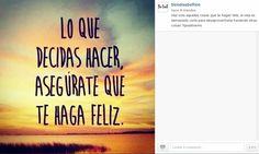 Síguenos en Instagram! Allí también tenemos #positivismo todo el día!   http://instagram.com/tiendasbefree/