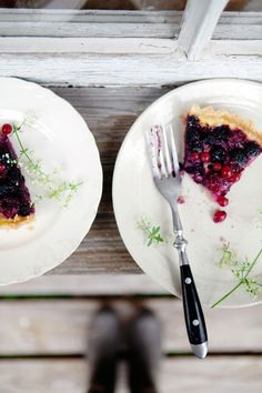 Summer berry and yogurt tart | Cannelle et Vanille