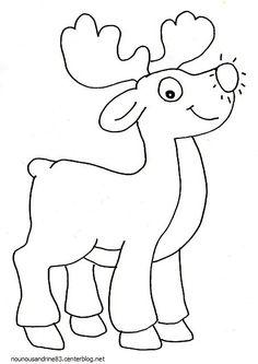 activité manuelle : le petit renne du père noel