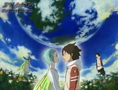 Eureka 7. Animes and stuff like that rarely make me cry, but this one did. So good.