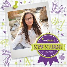 """This month's Star Student is Aiyana Davis Her tutor tells us: """"Aiyana worked very relentlessly and diligently throughout the summer. She is an excellent student who has a great desire to learn. As well, she is just so enjoyable to work with. Having never attended a school other than home, she..."""