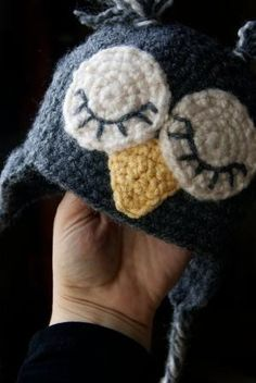 Sleepy Owl Crochet Baby Hat Photo Prop by CraftyMommaCreations, $14.99 by marcia